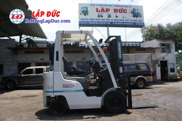Xe nâng máy xăng NISSAN 1 tấn NP1F1 # 400155 giá rẻ