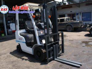 Xe nâng động cơ xăng NISSAN NP1F1 # 400155 giá rẻ